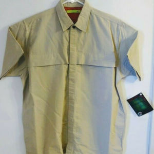 Mountain Dew Promo Mens Sz L Safari Style Shirt